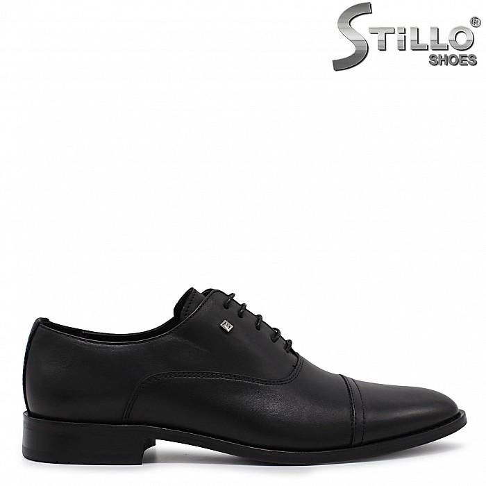 Елегантни мъжки обувки от естествена кожа – 36545