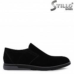 Спортни мъжки обувки от естествен велур – 36547