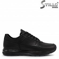 Спортни мъжки обувки от естествена кожа – 36549
