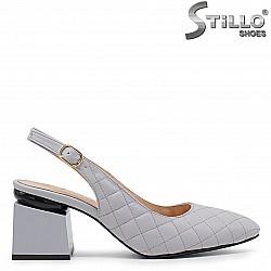 Дамски сандали със затворени пръсти – 36662
