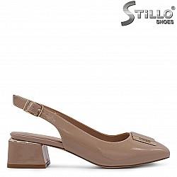 Летни обувки на нисък ток - 36802