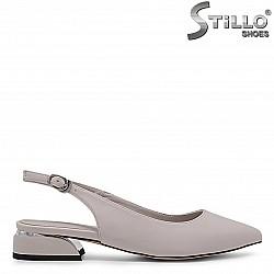 Летни сандали със затворени пръсти – 36805