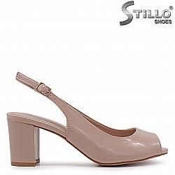 Дамски сандали на среден ток – 36932