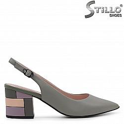 Дамски сандали със затворени пръсти  – 36985
