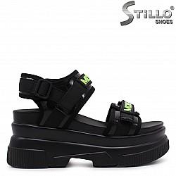 Спортни гръндж сандали с лепки – 37070