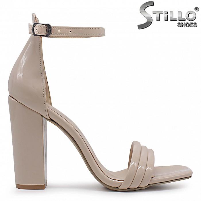 Елегантни дамски сандали с висок ток – 37073