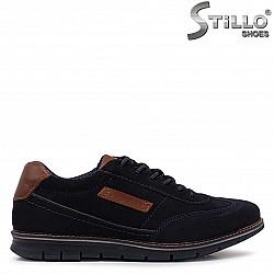 Спортни-елегантни обувки BUGATTI от естествен велур – 37122
