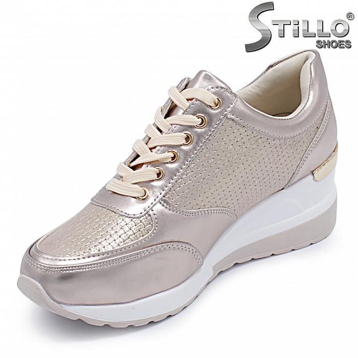 Спортни обувки на платформа - 37180
