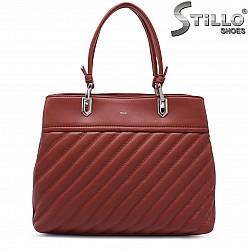 Червена дамска чанта – 37241
