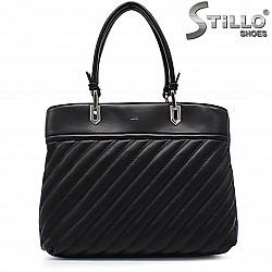 Черна дамска чанта – 37243