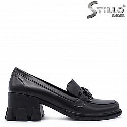 Есенни дамски обувки на ток - 37270