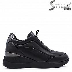 Спортни обувки от кожа на платформа – 37275