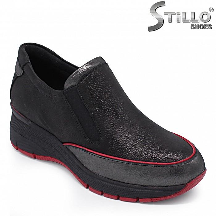 Дамски спортни обувки естествена кожа – 37366
