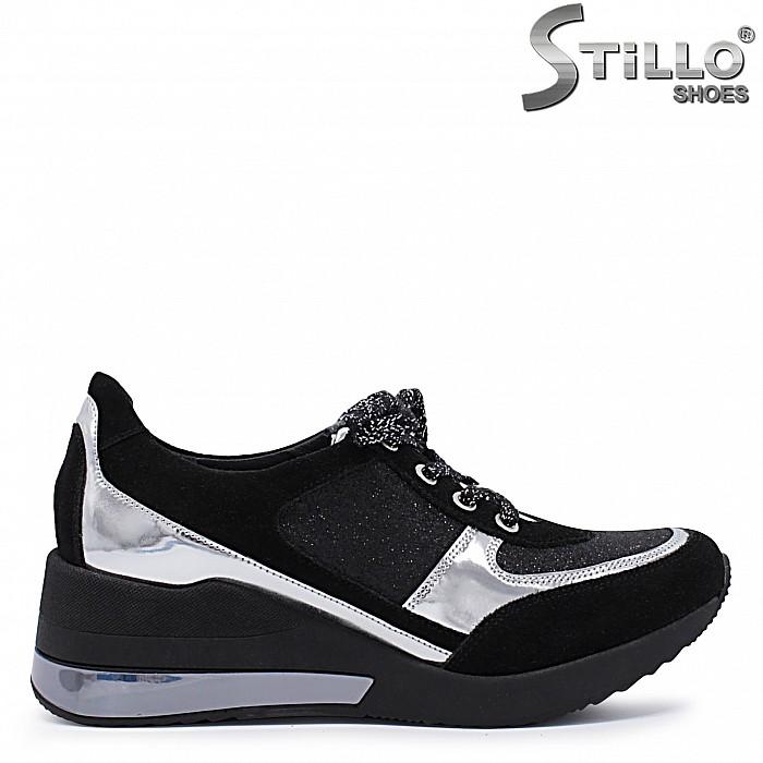 Спортно елегантни обувки на платформа – 37370