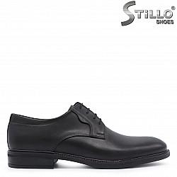 Елегантни мъжки обувки естествена кожа – 37374