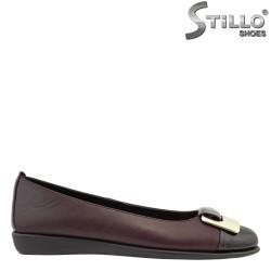 Дамски пантофки от естествена кожа FLEXX - 27262