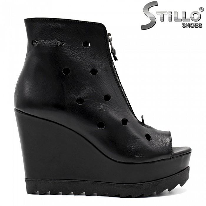b82807ccdaa Stillo магазини за обувки, Летни дамски боти с отворени пръсти на ...