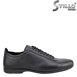 24167 - Мъжки обувки от естествена кожа
