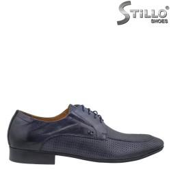 Мъжки обувки от естествена кожа - 26346