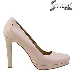 26031 - Дамски обувки от естествен розов лак