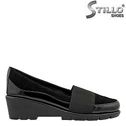 bcd6b2b7dd9 Дамски обувки с ниска платформа - 27265- РАЗМЕРИ ДО №41