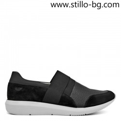Мъжки спортни обувки от естествена кожа и велур  - 26164