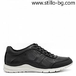 Спортни обувки от естествена кожа с дебело релефно ходило - 29230