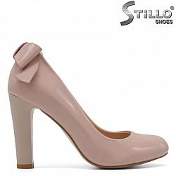 Розови дамски обувки на висок ток  - 29572