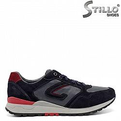 Мъжки спортни обувки GRISPORT в синьо и бордо - 30083