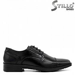 Мъжки обувки IMAC от естествена кожа с връзки- 30132