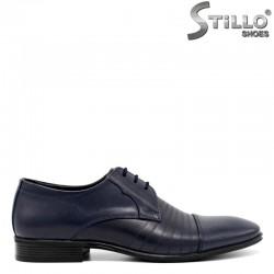 Сини официални обувки - 30177
