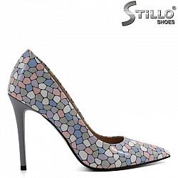 Елегантна обувка в пастелни нюанси  - 30271