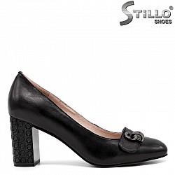 Обувки на висок релефен ток - 30443