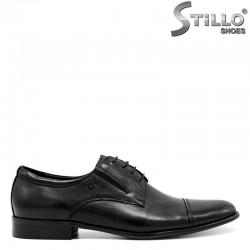 Елегантни мъжки обувки с връзки - 30471
