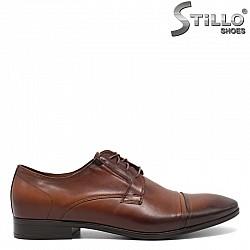 Кафяви мъжки обувки - 30503