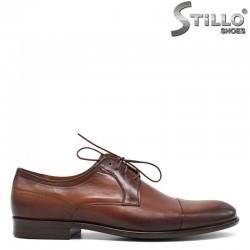 Мъжки обувки в кафяв цвят - 30504