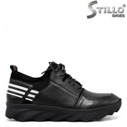 Дамски спортни обувки с назъбено ходило - 30540