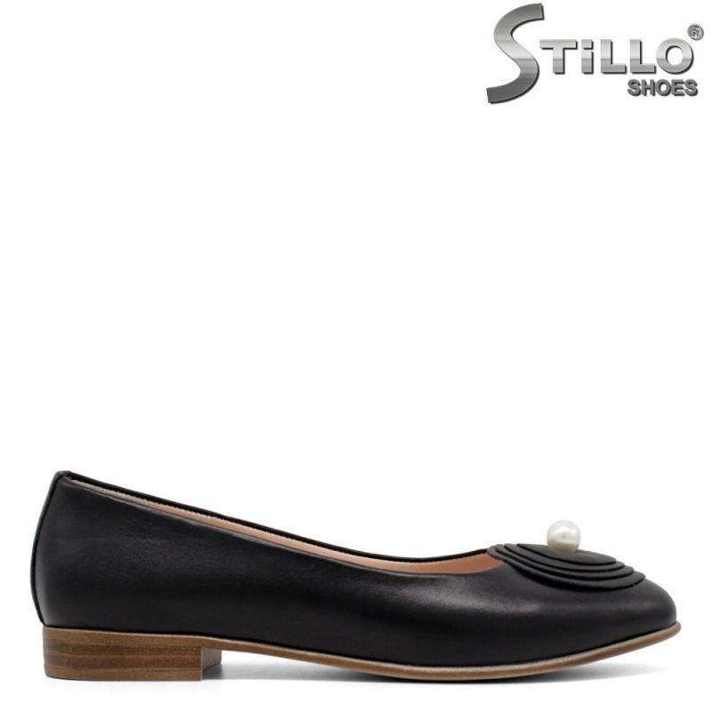 Дамски пантофки от естествена кожа - 30359