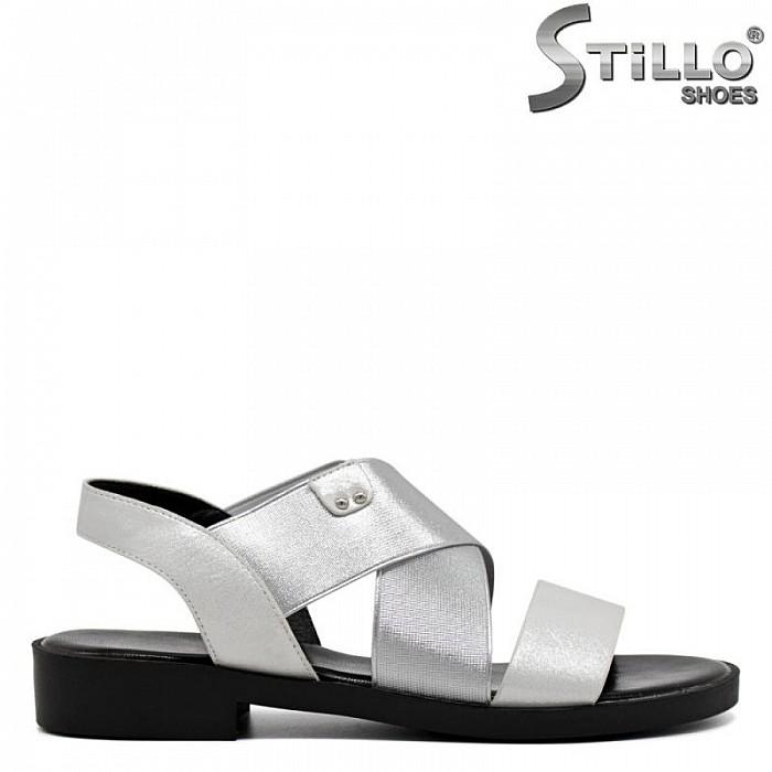Ежедневни дамски сандали  на нисък ток - 30807