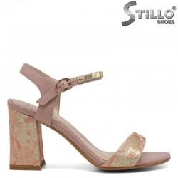 Елегантни дамски сандали на висок ток - 30818