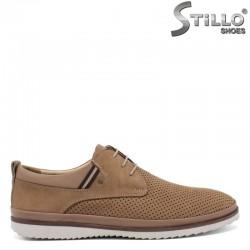 Мъжки летни обувки с перфорация  - 30835