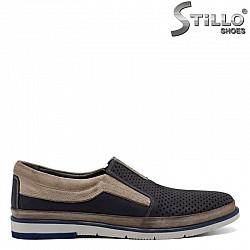 Мъжки обувки от естествена кожа  - 30854