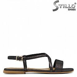 Дамски сандали от естествена кожа  - 30860