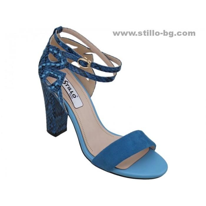 24783 - Елегантни дамски сандали с висок ток
