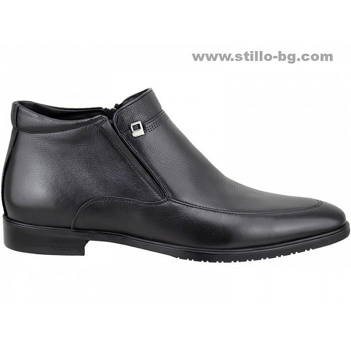 5f093cd1557 Stillo магазини за обувки, 25560 - Официални мъжки обувки - боти от ...