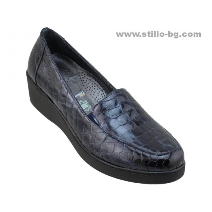 20589b586ec Stillo магазини за обувки, 25914 - Ежедневни дамски обувки от син ...
