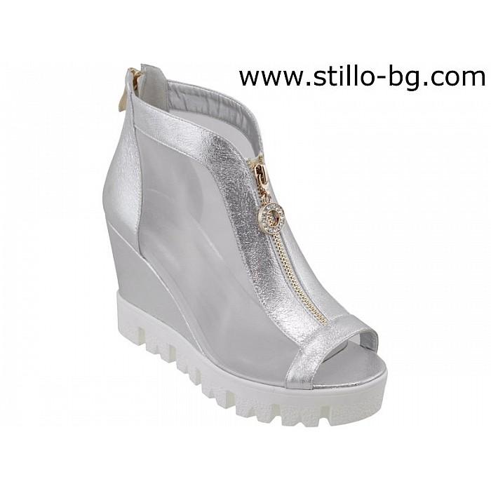 4717a68fb46 Stillo магазини за обувки, Дамски летни боти на платформа - 26664