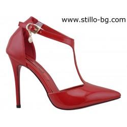 Елегантни сандали със затворени пръсти - 26644