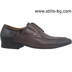 Мъжки обувки от естествена кожа - 26345
