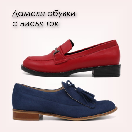 99524326aaa Banner: Дамски обувки с нисък ток